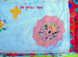 The Yellow Cross Huipil