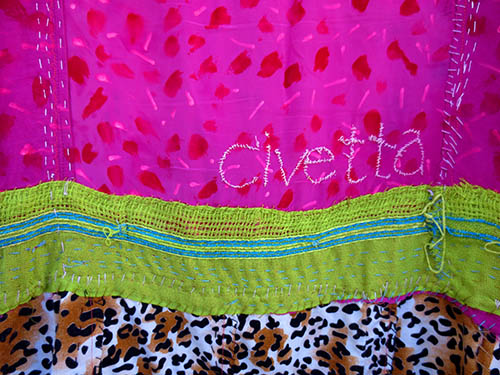 """Civetta"" huipil dress"