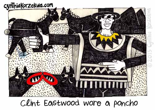 Clint Eastwood Wore A Poncho