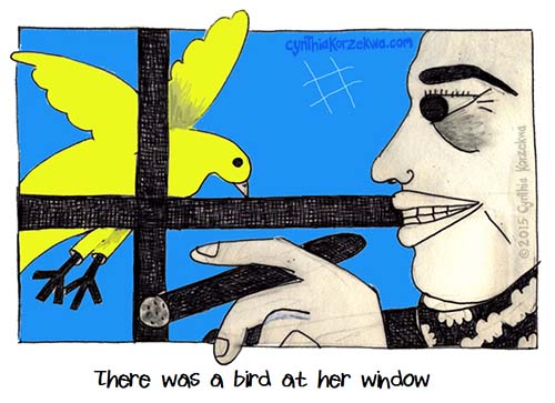 There Was A Bird at Her Window
