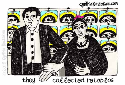 They Collected Retablos