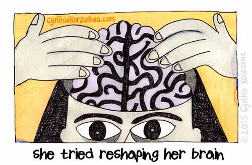She Tried Reshaping Her Brain
