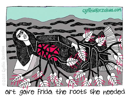 Art Gave Frida The Roots She Needed