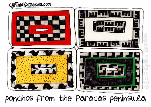 Ponchos From The Paracas Peninsula