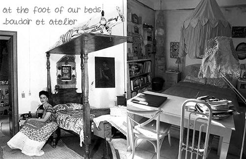 Frida Kahlo's Bed & Mine