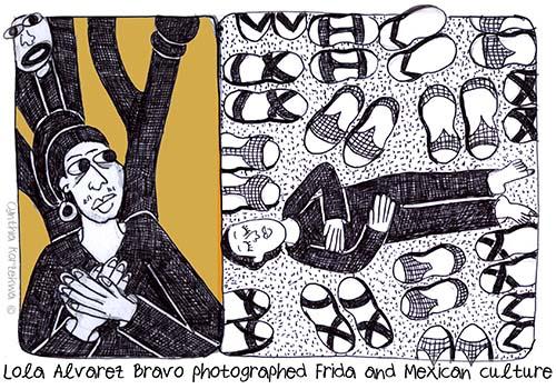 Lola Alvarez Bravo photographed Frida and Mexican culture
