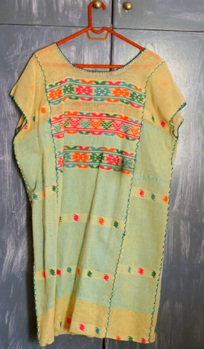 Mexican Huipil Dress