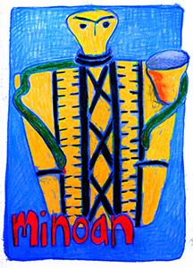 Minoan Vessel Goddess