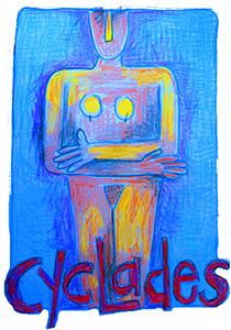Cycladic Goddess
