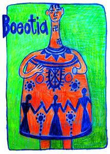 Boeotian Bell Goddess